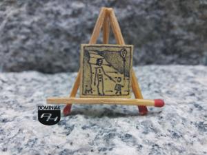 Z Gustawem rysunek akrylem tuszem 1,80 cm x 2,00 cm autor Justyna Neyman 2013