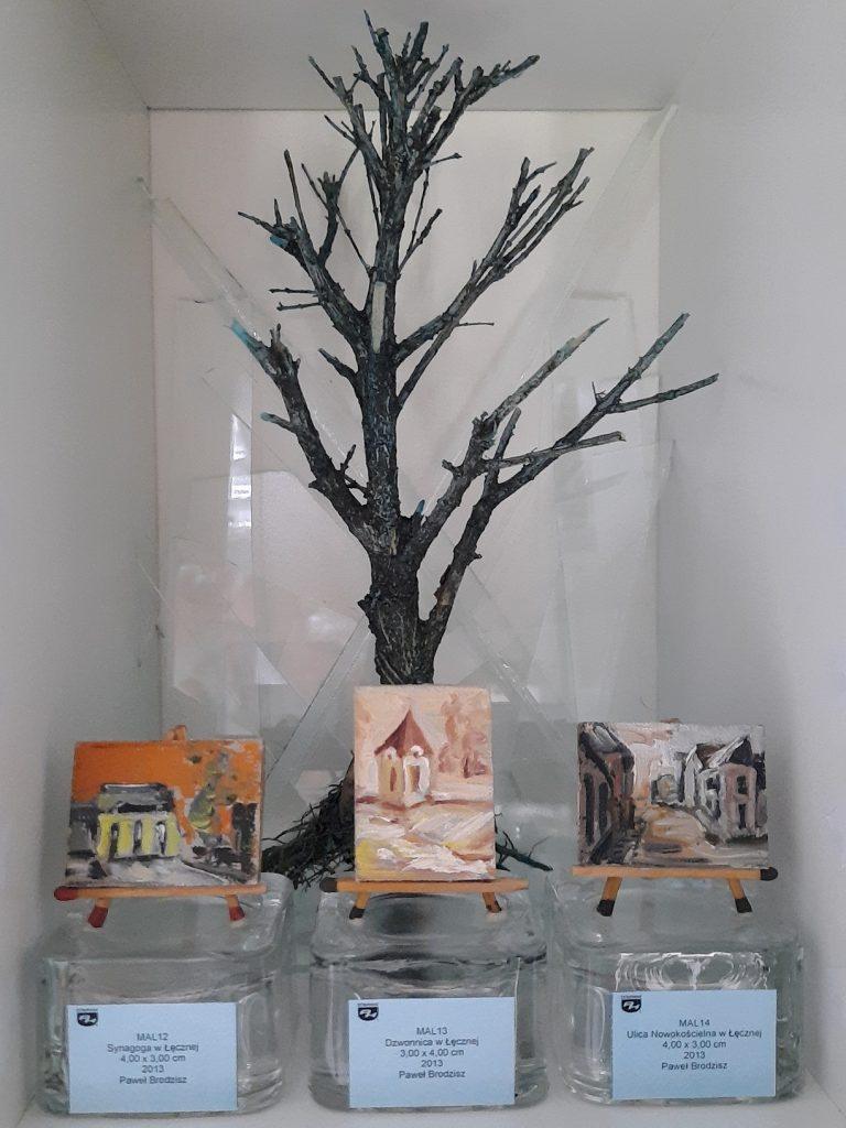 wystawa Synagoga w Łęcznej Dzwonnica w Łęcznej Ulica Nowokościelna w Łęcznej obrazy olejne na płótnie Paweł Brodzisz 2013